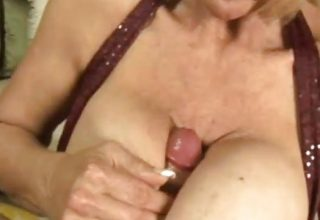 Can I Fuck Your Tits Grandma JOI… IT4