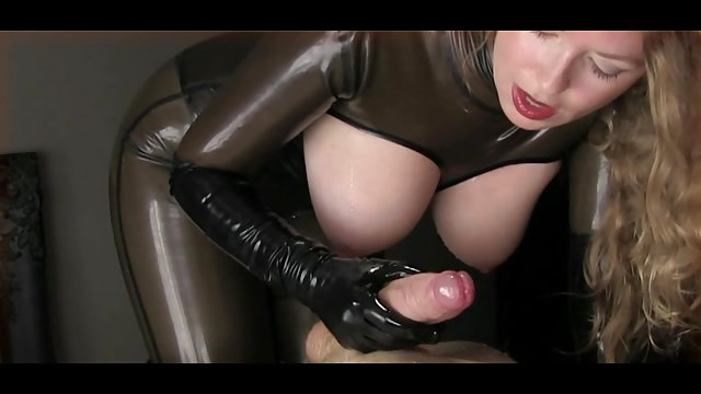 Free latex handjob tube movies, video sex booys